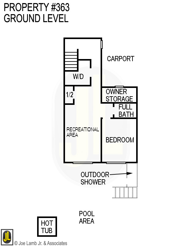 Floorplan: 363 Ground Level