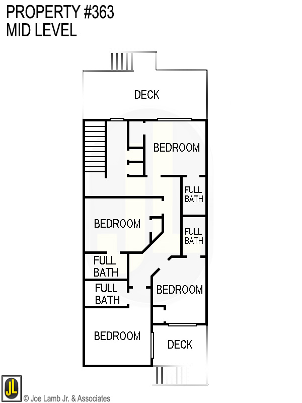 Floorplan: 363 Mid Level