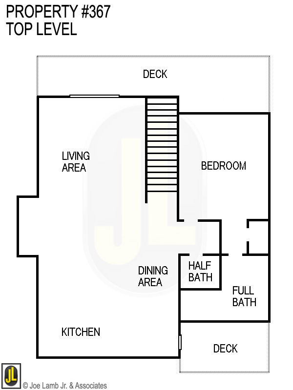 Floorplan: 367 Top Level