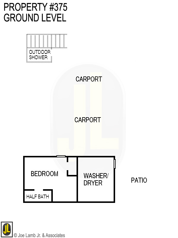 Floorplan: 375 Ground Level