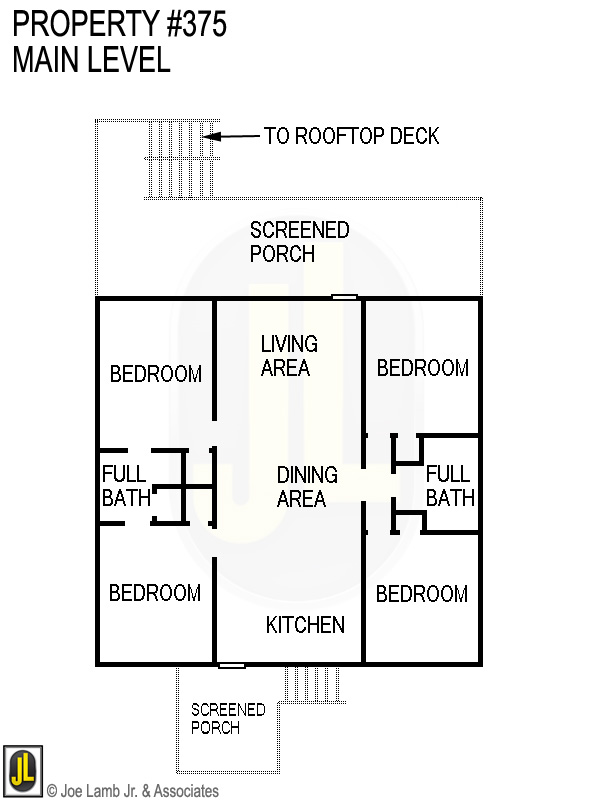 Floorplan: 375 Main Level