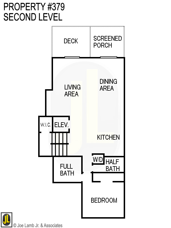 Floorplan: 379 Second Level