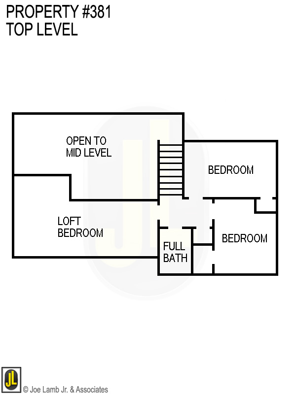 Floorplan: 381 Top Level