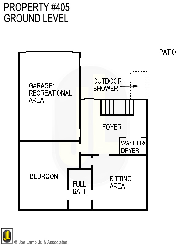 Floorplan: 405 Ground Level