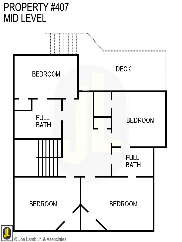 Floorplan: 407 Mid Level
