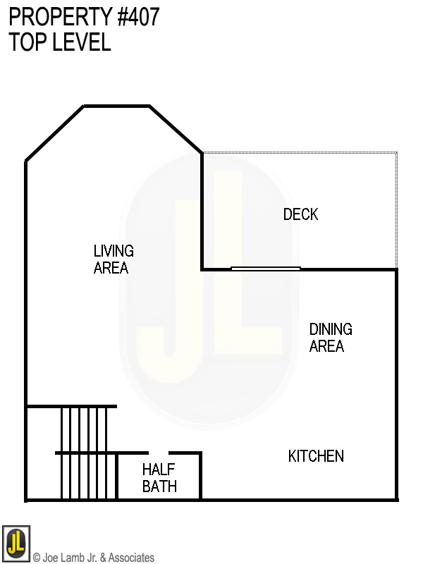 Floorplan: 407 Top Level