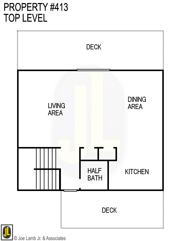 Floorplan: 413 Top Level