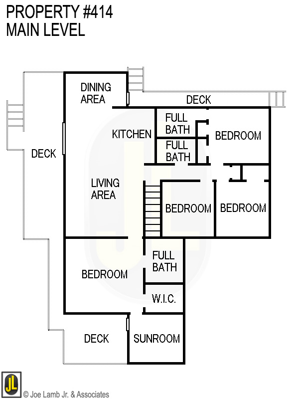 Floorplan: 414 Main Level