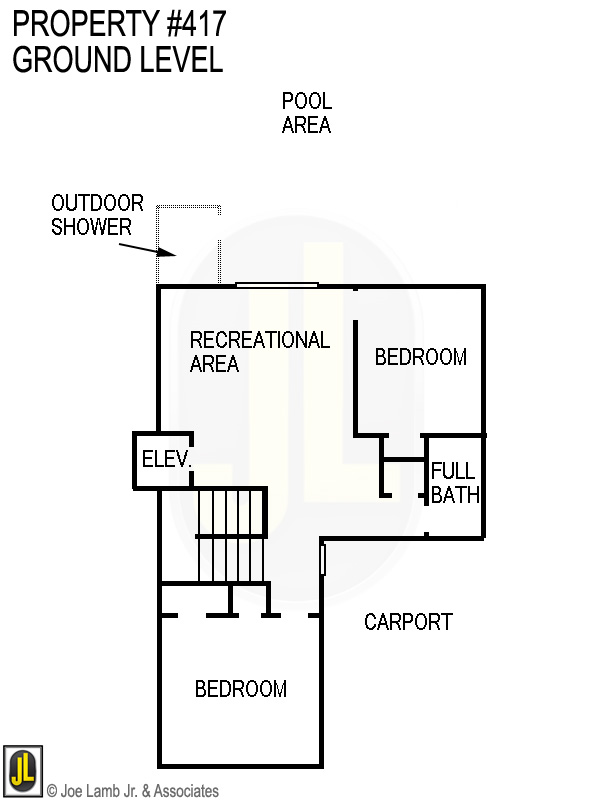 Floorplan: 417 Ground Level