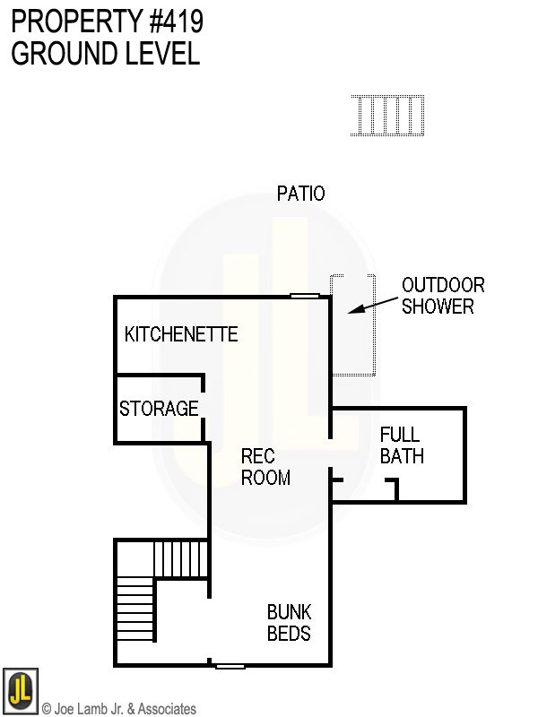 Floorplan: 419 Ground Level