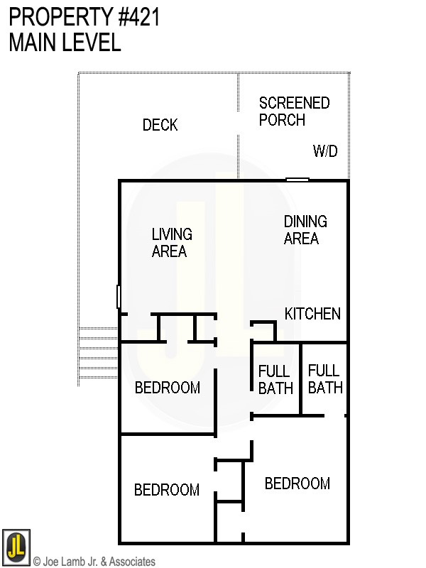 Floorplan: 421 Main Level