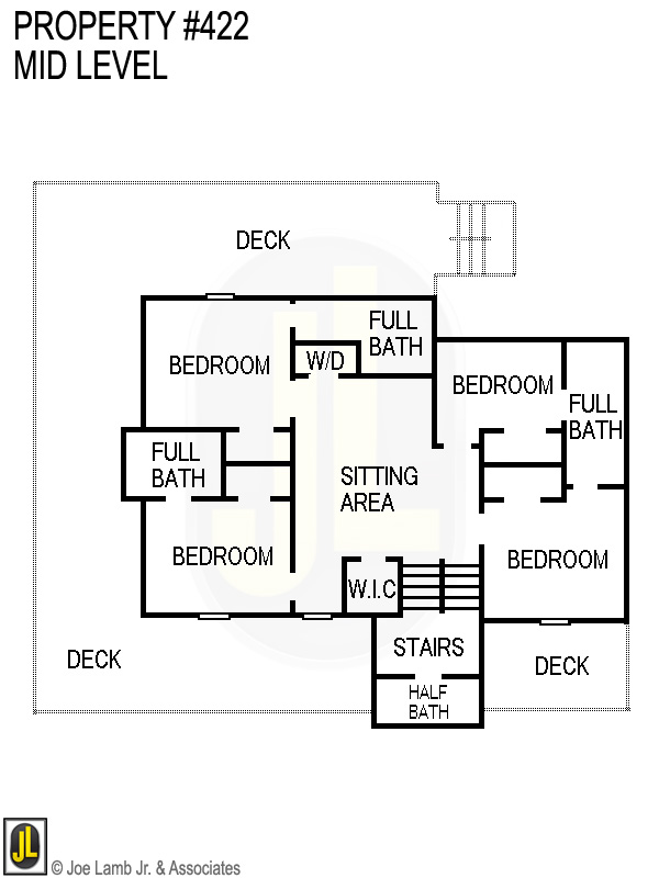 Floorplan: 422 Mid Level