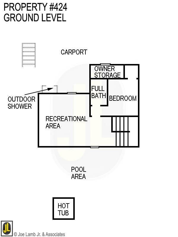 Floorplan: 424 Ground Level