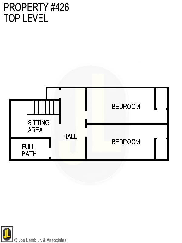 Floorplan: 426 Top Level