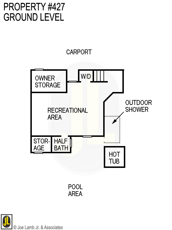 Floorplan: 427 Ground Level