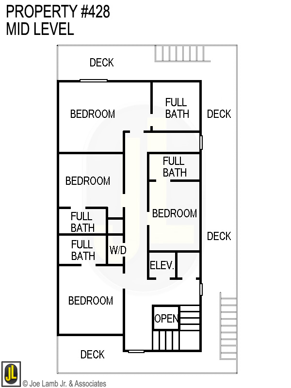 Floorplan: 428 Mid Level