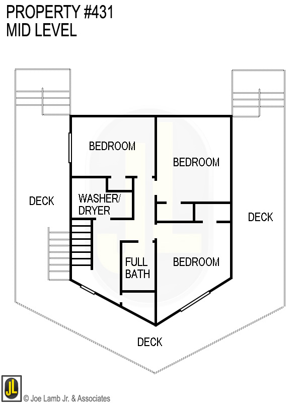 Floorplan: 431 Mid Level