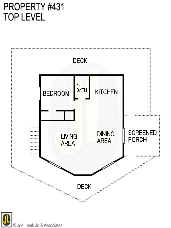 Floorplan: 431 Top Level