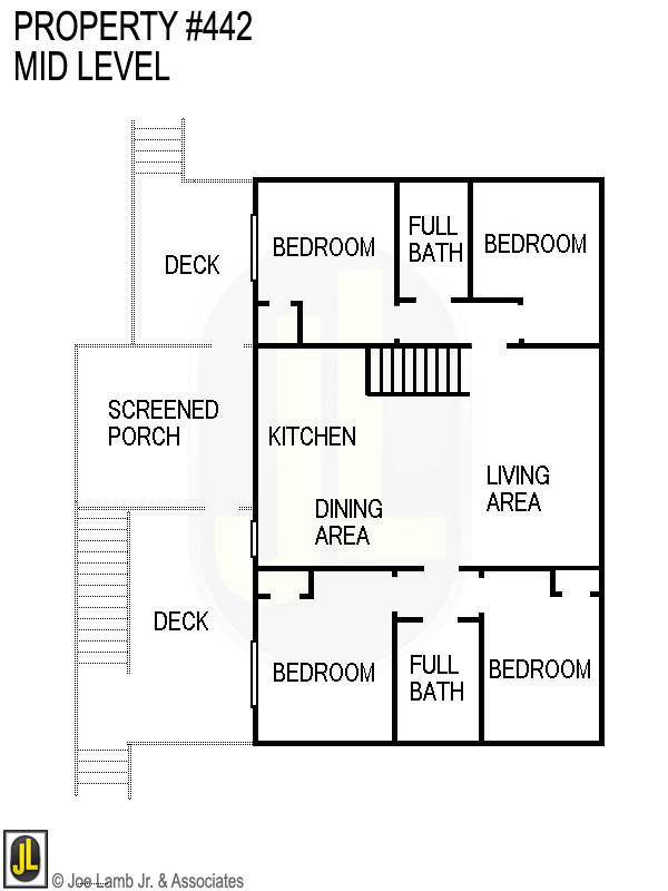Floorplan: 442 Mid Level