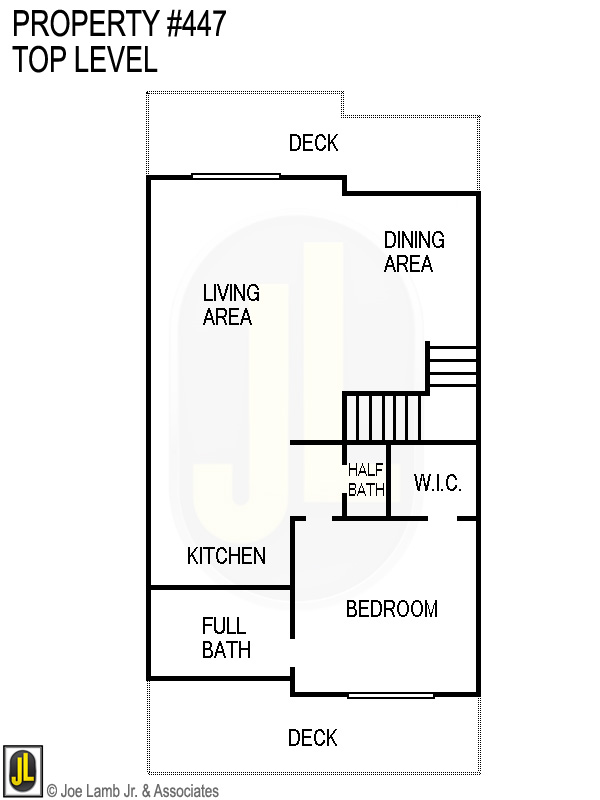 Floorplan: 447 Top Level