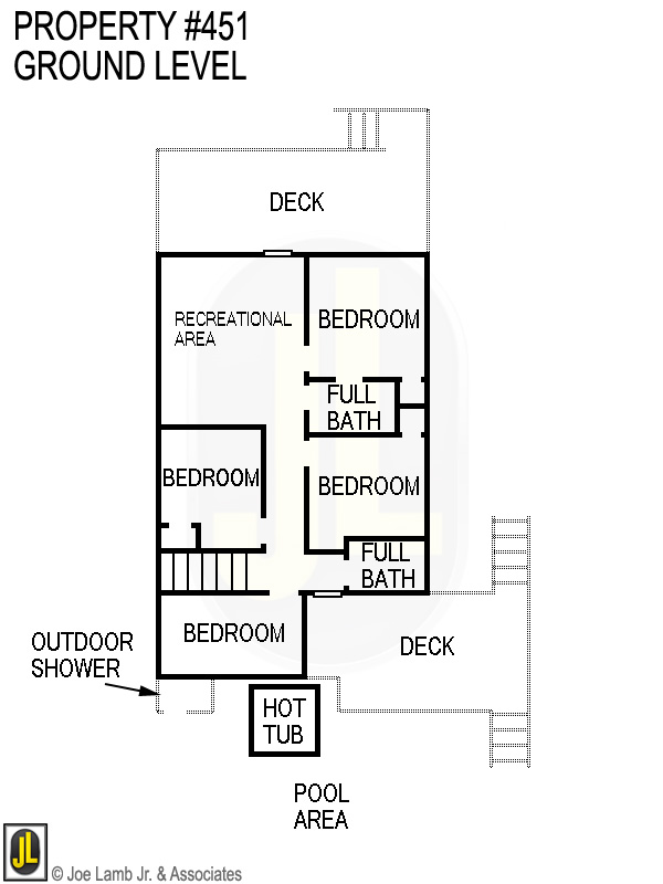 Floorplan: 451 Ground Level