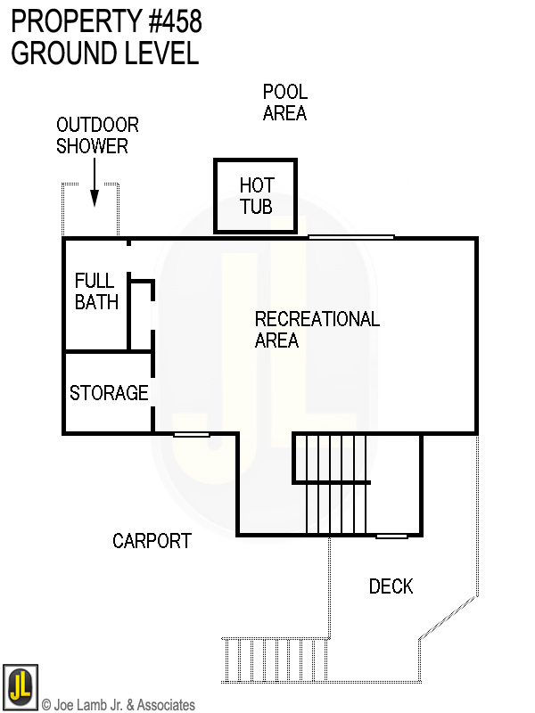 Floorplan: 458 Ground Level