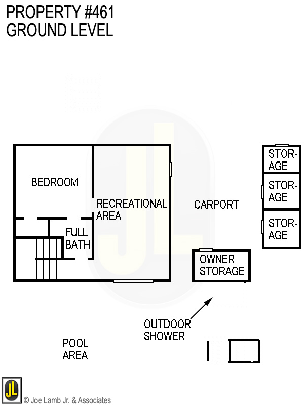 Floorplan: 461 Ground Level