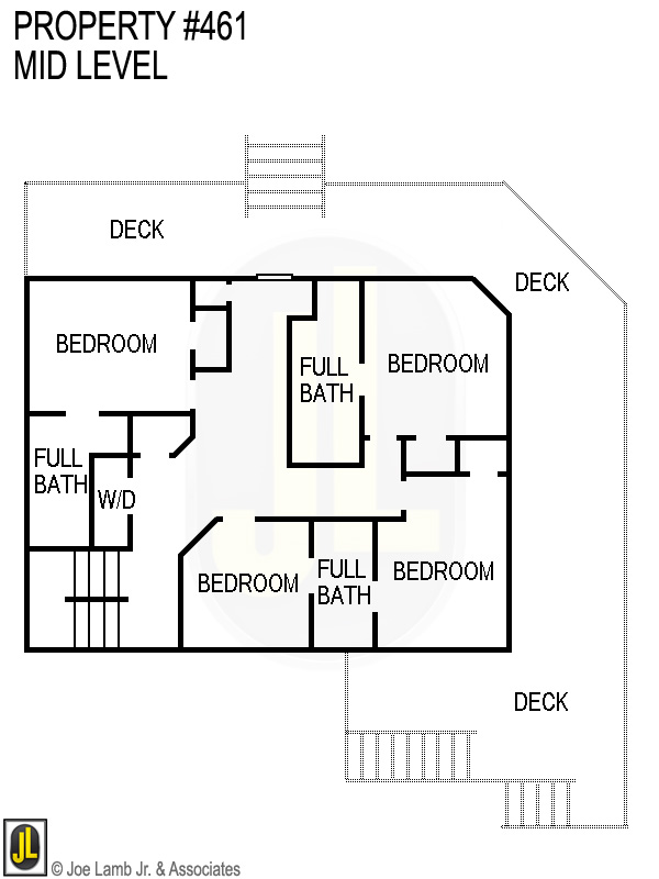 Floorplan: 461 Mid Level