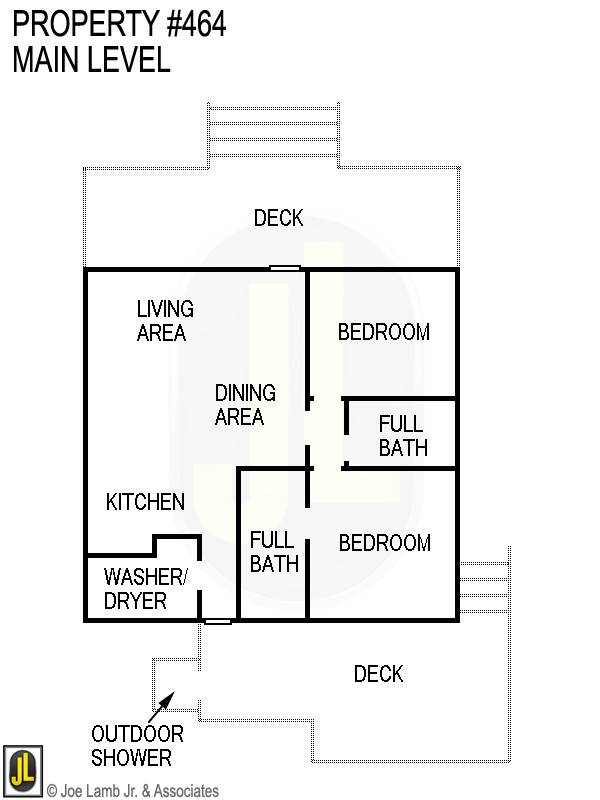 Floorplan: 464 Main Level