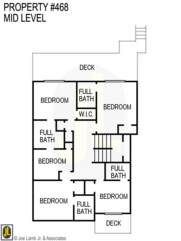 Floorplan: 468 Mid Level