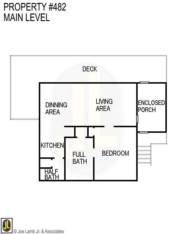 Floorplan: 482 Main Level