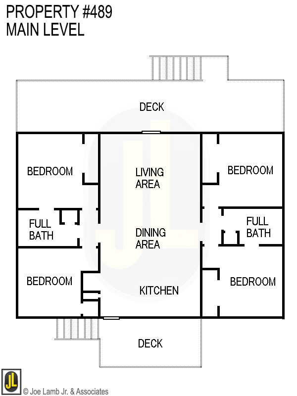 Floorplan: 489 Main Level