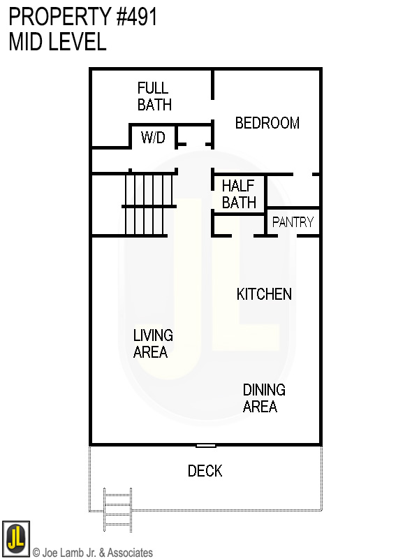 Floorplan: 491 Mid Level