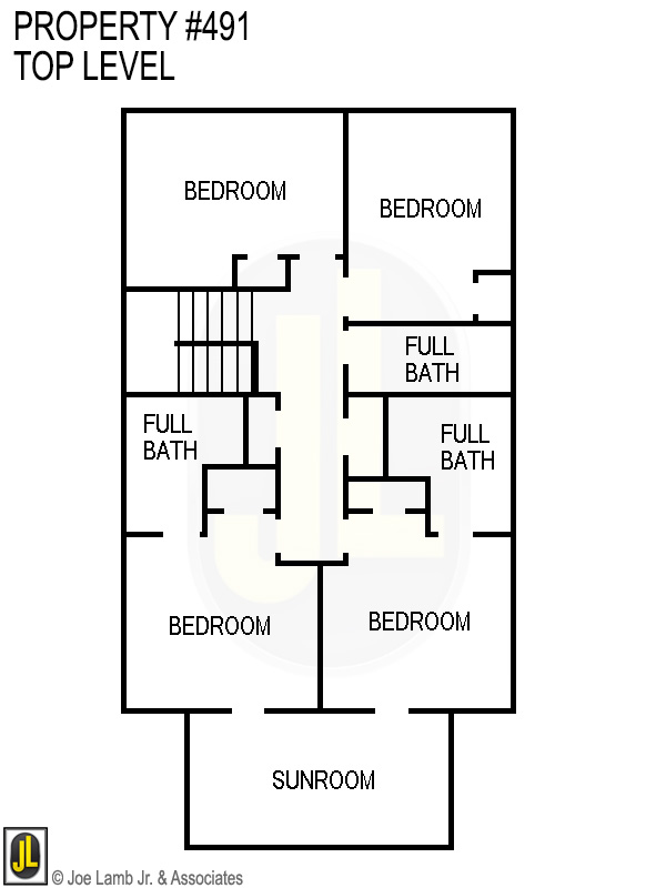 Floorplan: 491 Top Level