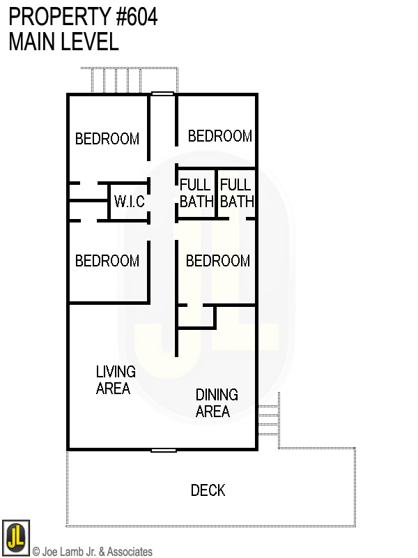Floorplan: 604 Main Floor