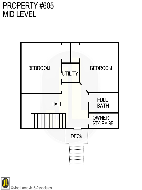 Floorplan: 605 Mid Level