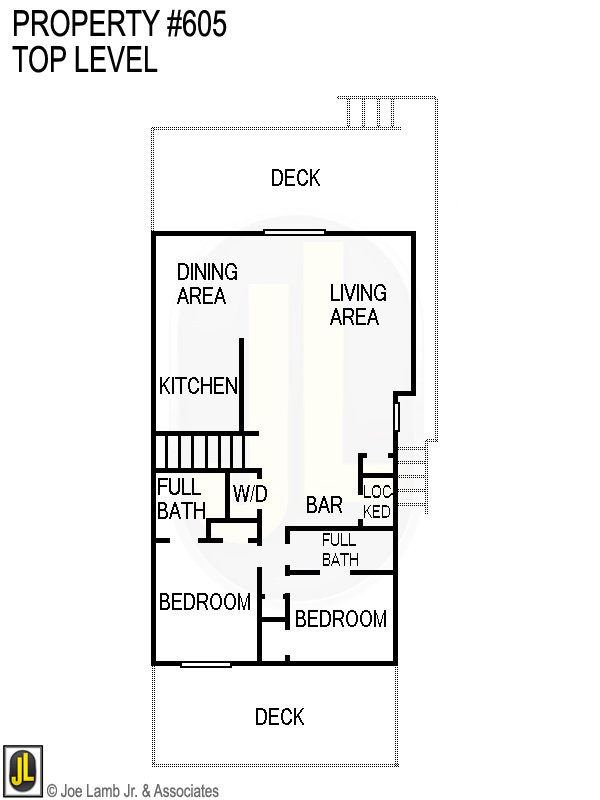 Floorplan: 605 Top Level