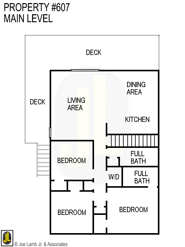 Floorplan: 607 Main Level