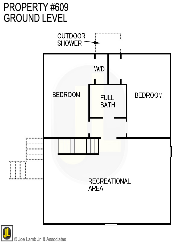 Floorplan: 609 Ground Level