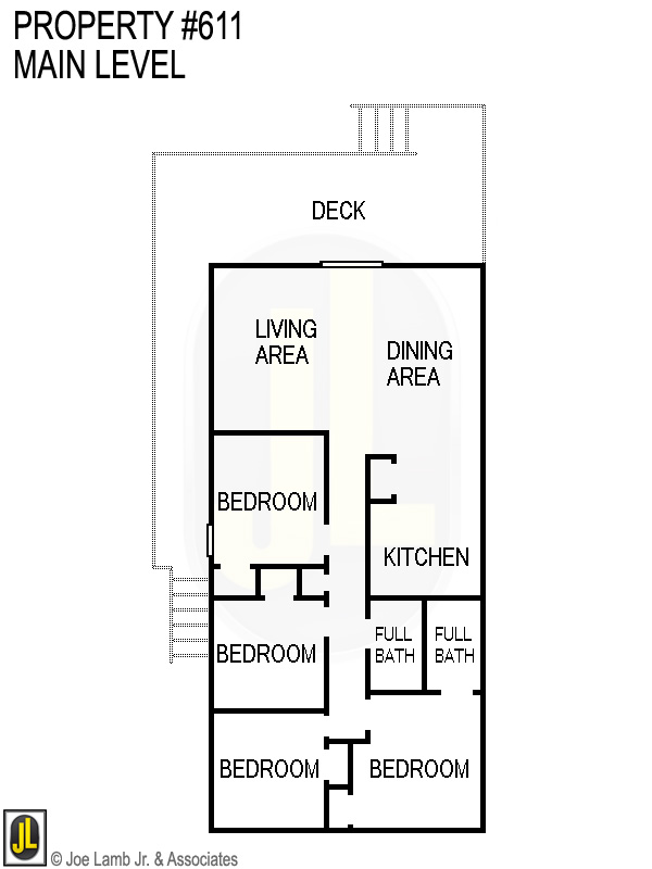Floorplan: 611 Main Level