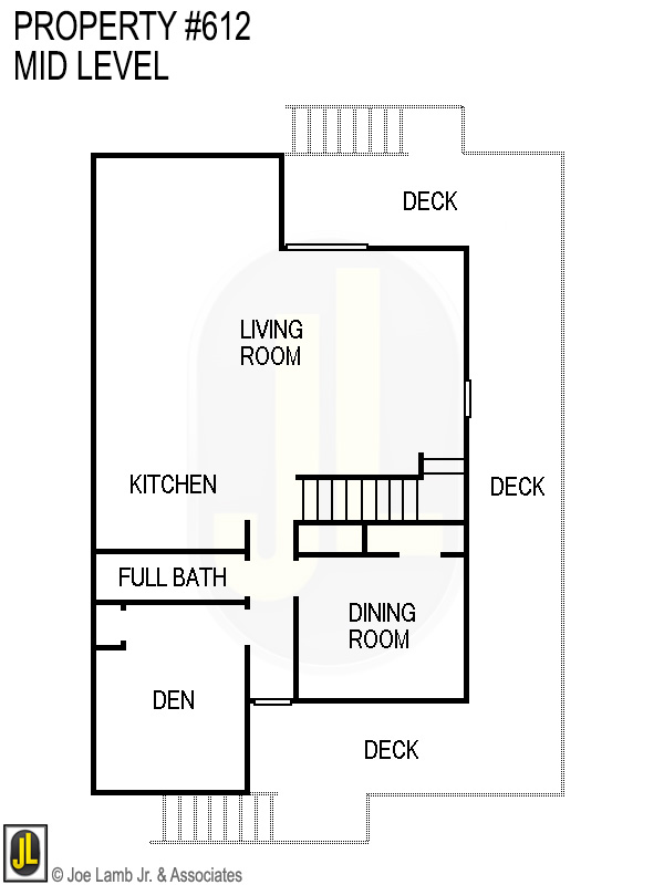Floorplan: 612 Mid Level- Updated 2019