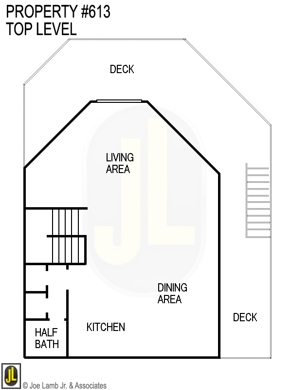 Floorplan: 613 Top Level