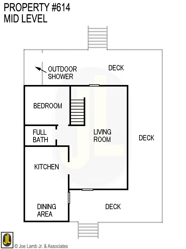 Floorplan: 614 Mid Level