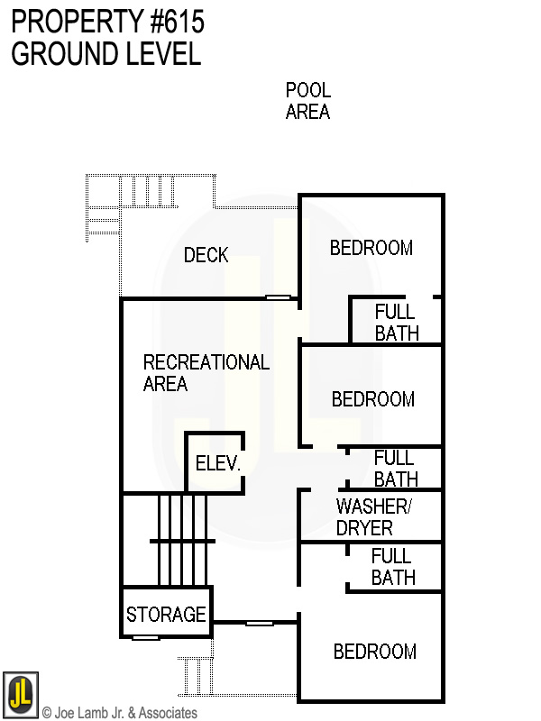 Floorplan: 615 Ground Level