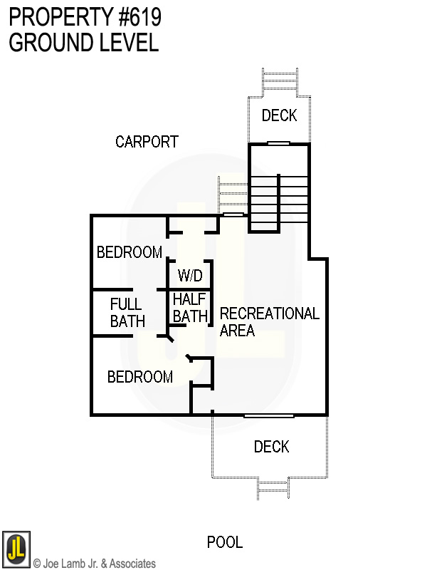 Floorplan: 619 Ground Level