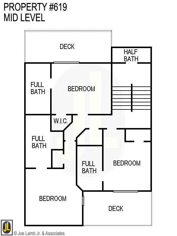 Floorplan: 619 Mid Level