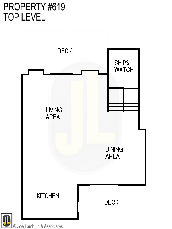 Floorplan: 619 Top Level