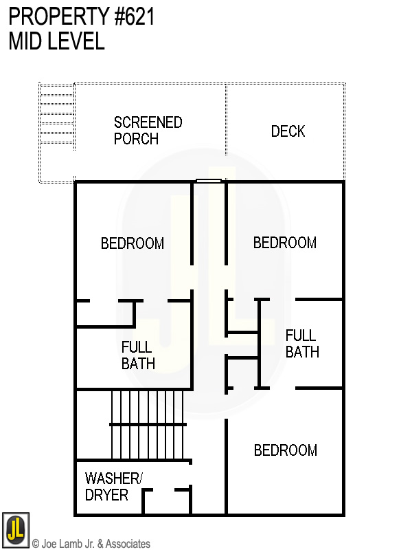 Floorplan: 621 Mid Level