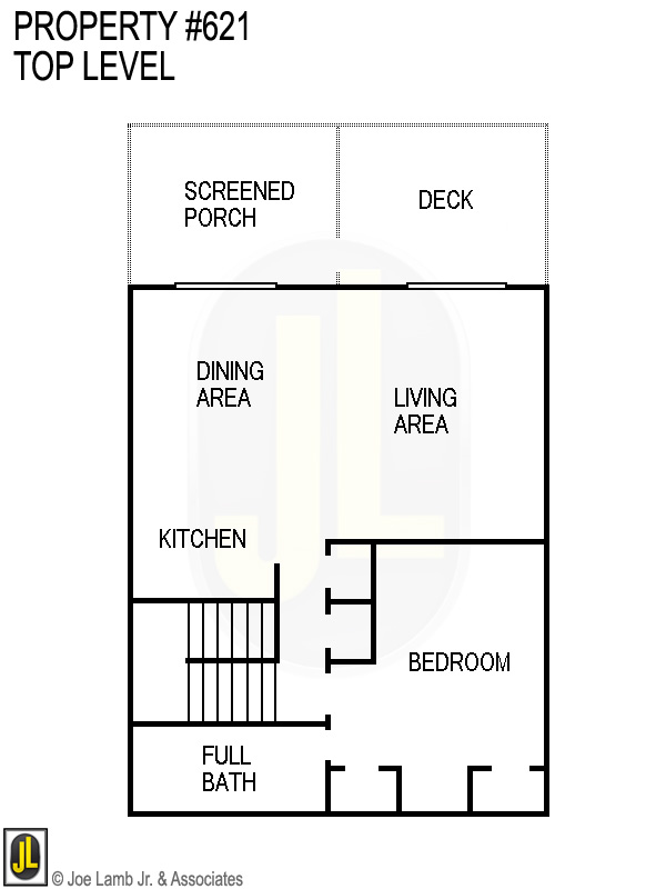 Floorplan: 621 Top Level