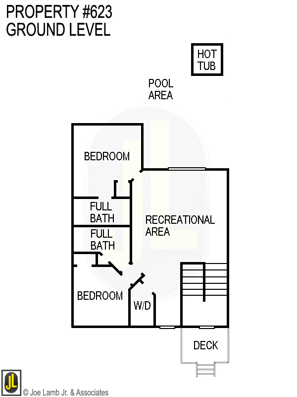 Floorplan: 623 Ground Level